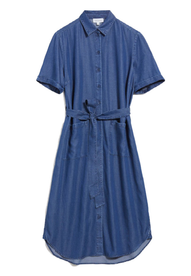 ARMEDANGELS Maaisa dress basic denim blue