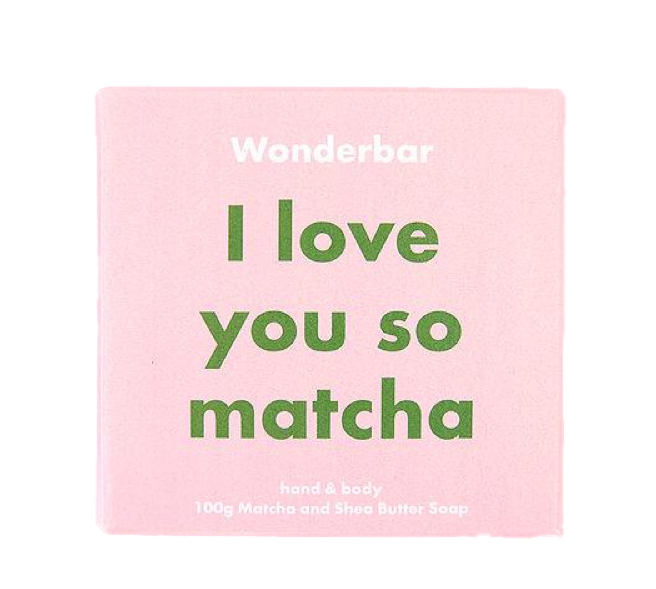 Wonderbar Matcha & Shea Butter Soap