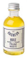Le Baigneur Beard & Face Oil Plum-Hazelnut