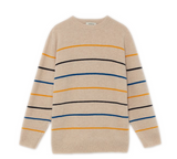 THINKING MU Shell Striped Miki jumper Men