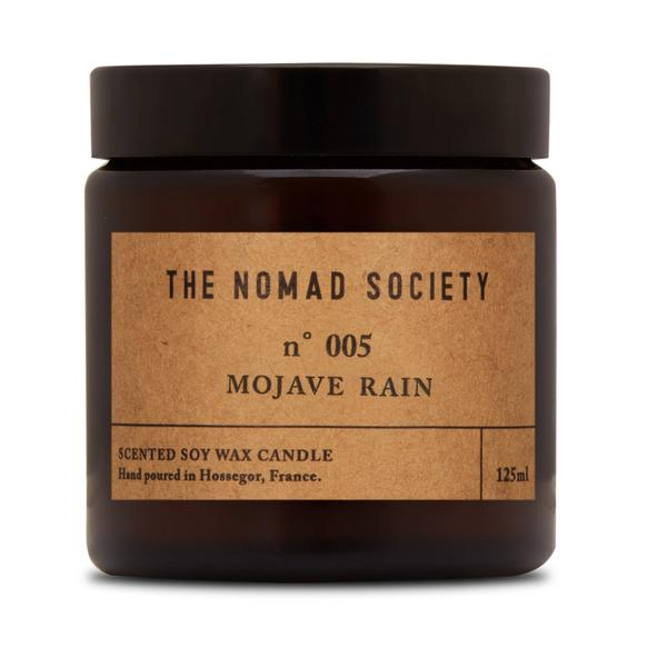 THE NOMAD SOCIETY Soy Wax Candle Mojave Rain 120ml