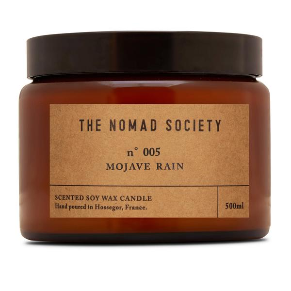 THE NOMAD SOCIETY Soy Wax Candle Mojave Rain 500ml