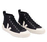 VEJA Nova HT Canvas Black Pierre Women