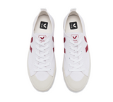 VEJA Nova Canvas White Marsala Women