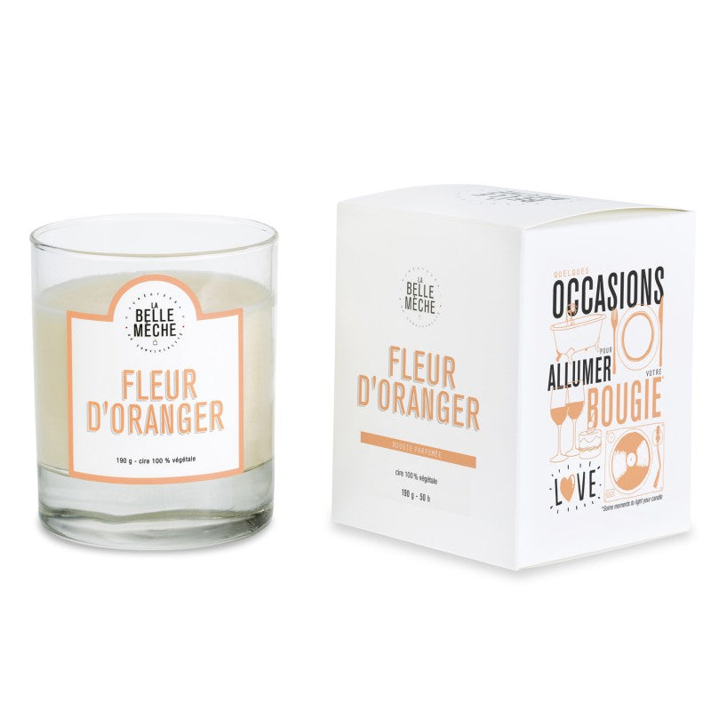 LA BELLE MECHE Orange Blossom Scented candle