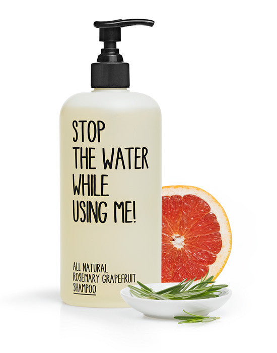 Rosemary Grape Shampoo by Stop the water while using me