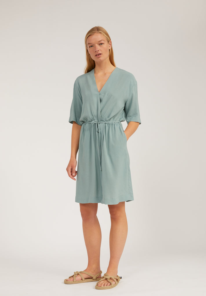 ARMEDANGELS Rauhaa dress eucalyptus green