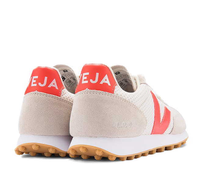 VEJA Riobranco Hexamesh Gravel orange fluo women
