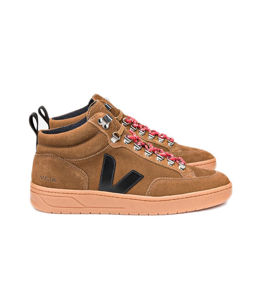 VEJA Romaira Suede Brown Black Natural Sole Men