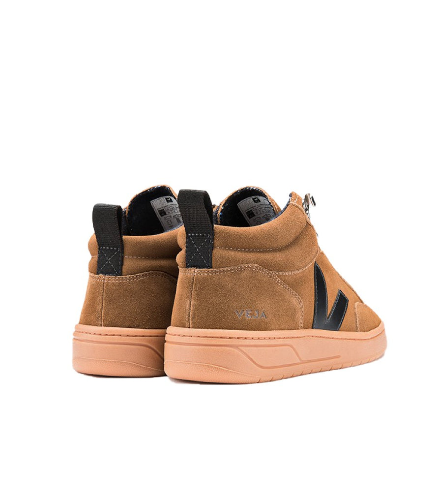 VEJA Roraima Suede Brown Black Natural Sole Men