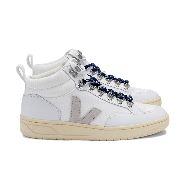 VEJA Roraima B-Mesh White Natural Butter Sole women