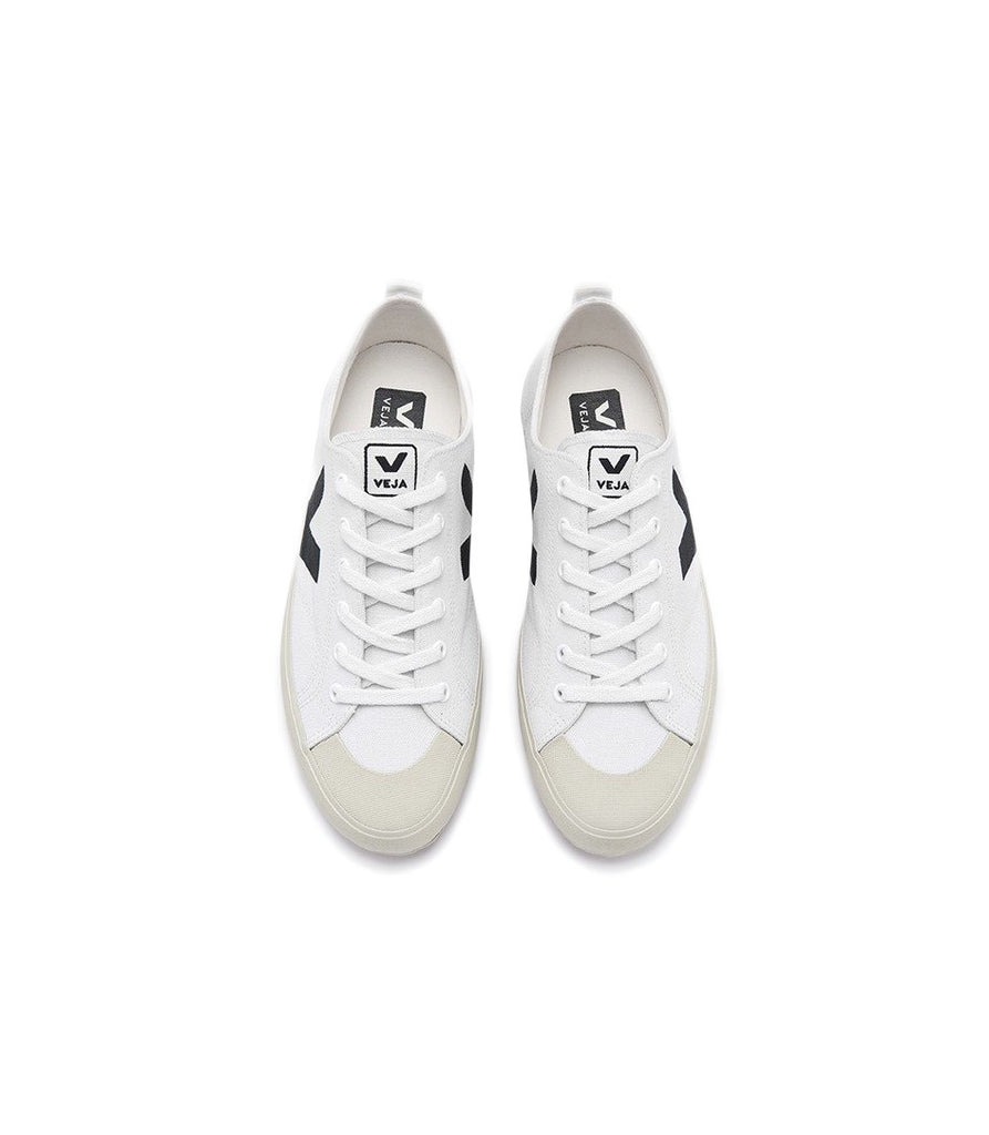 VEJA Nova Canvas White Black Women