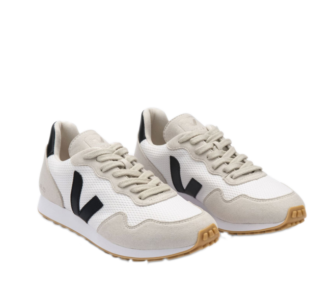 VEJA SDU Alveomesh White Black Natural Women