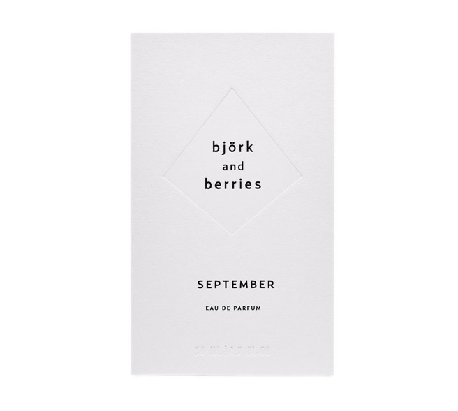 Björk & Berries September Eau De Perfume 50 ml