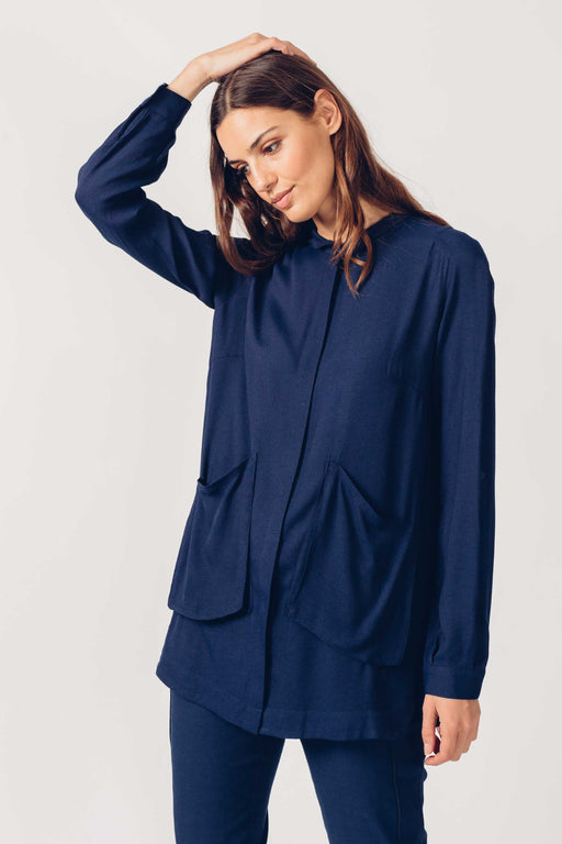 SKFK Lore Shirt Navy