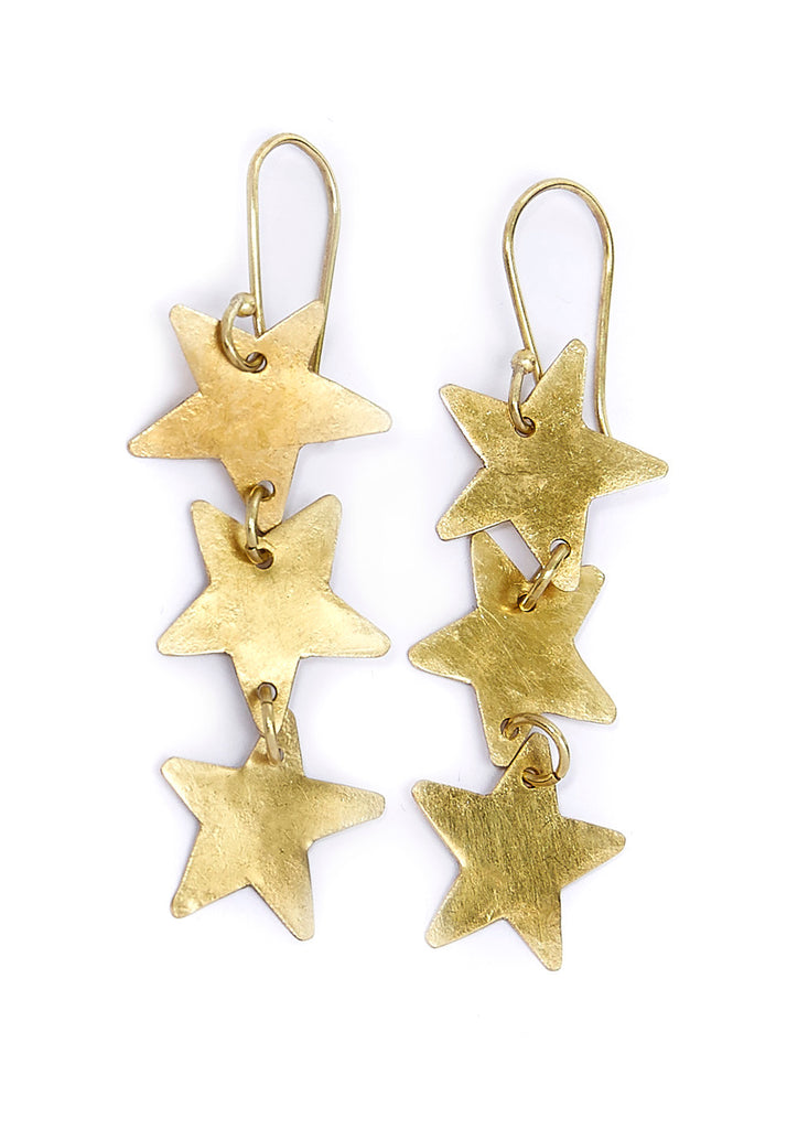 PEOPLE TREE Stardrop earrings Y473UA