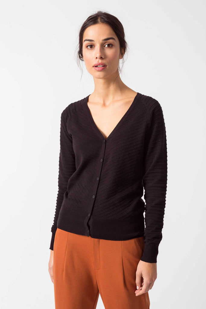 SKFK Betti cardigan black