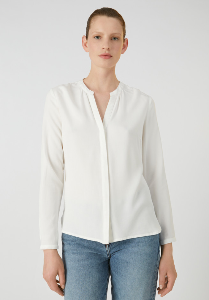 ARMEDANGELS Sylviaa off white blouse
