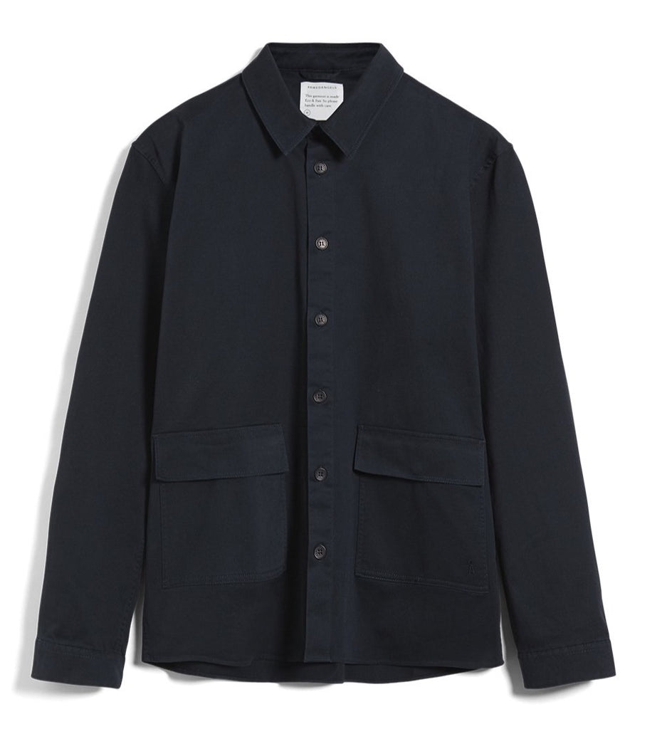 ARMEDANGELS Taaoko overshirt depth navy