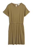 ARMEDANGELS Tadinaa dress golden khaki