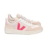 VEJA V-10 Suede Multico Natural Rose Women