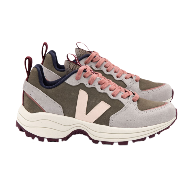 VEJA Venturi Suede Kaki Sable Oxford Grey Women