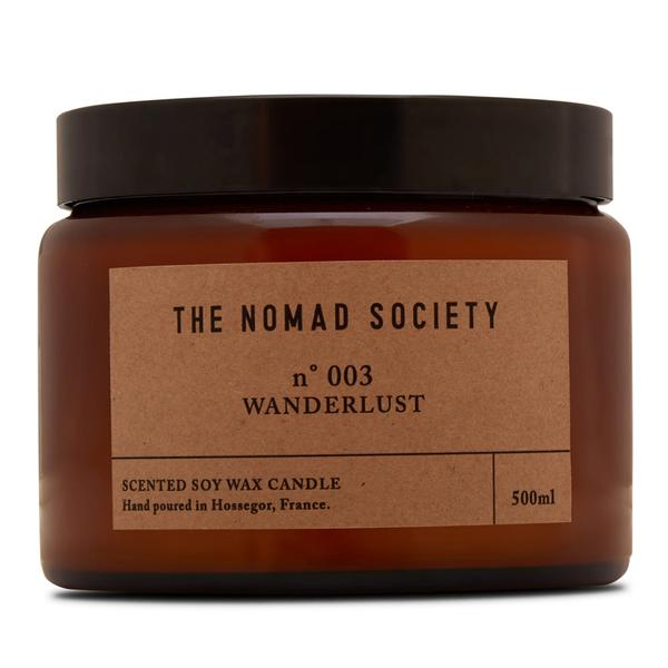 THE NOMAD SOCIETY Soy Wax Candle Wanderlust 500ml