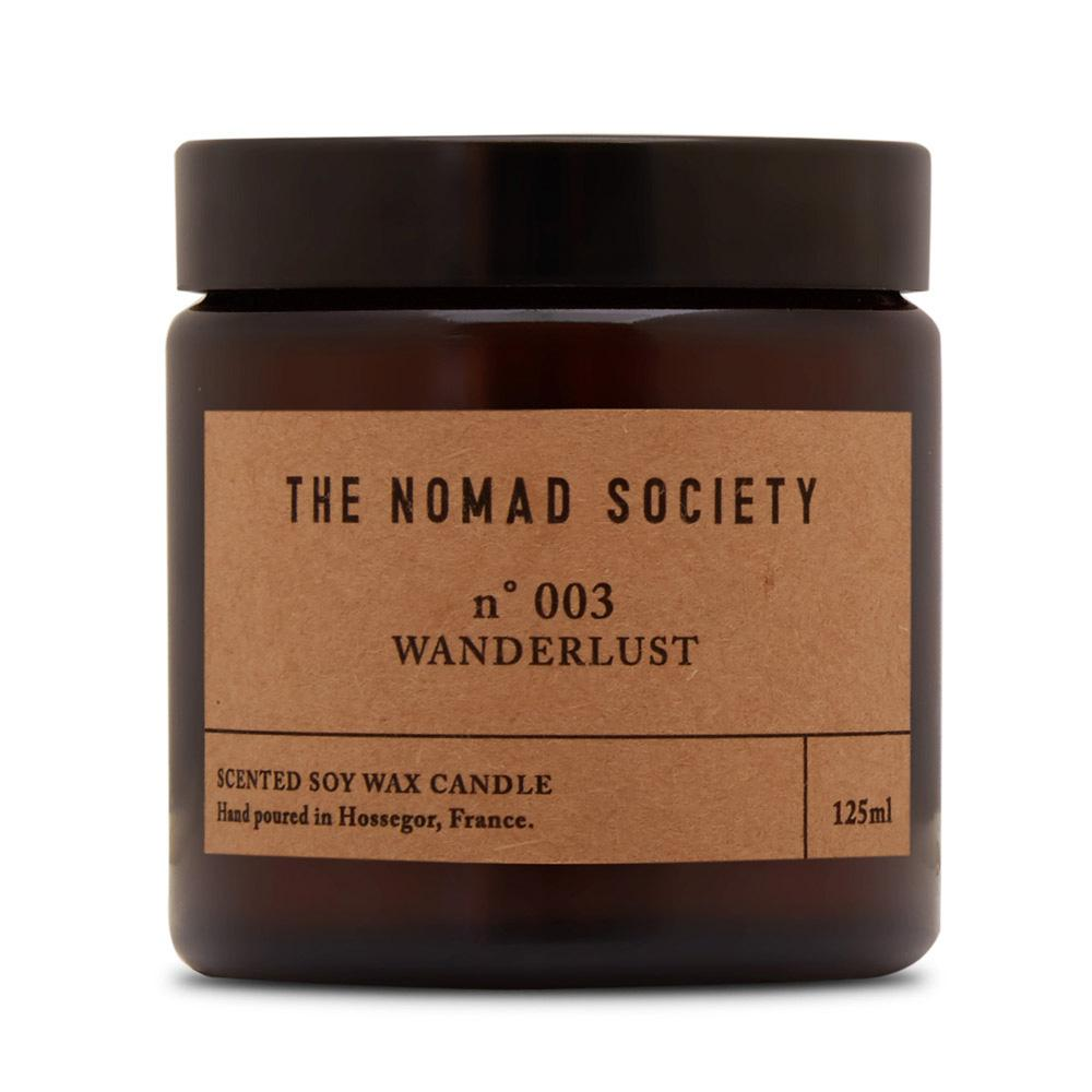 THE NOMAD SOCIETY Soy Wax Candle Wanderlust 120ml