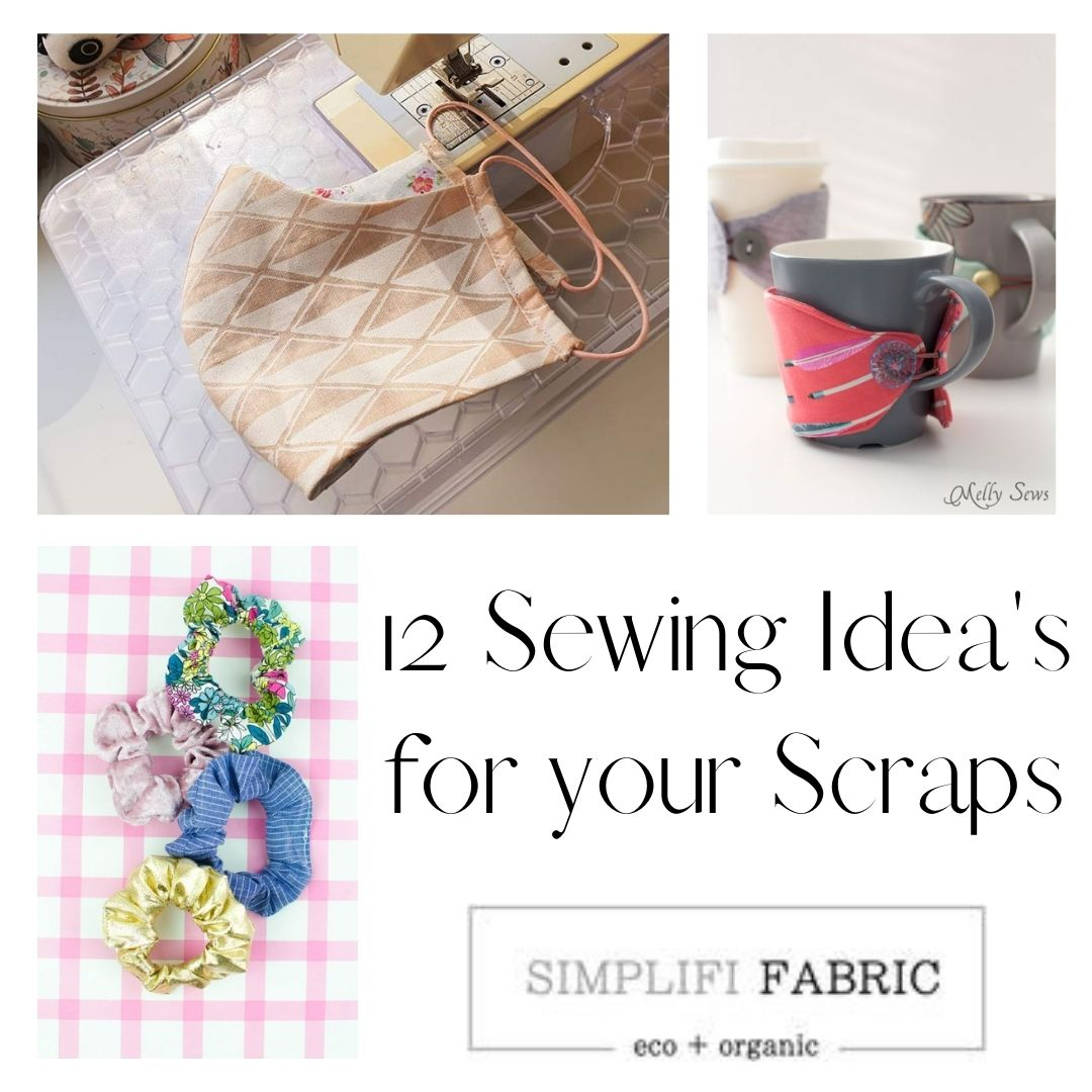 12 sewing ideas for your scraps