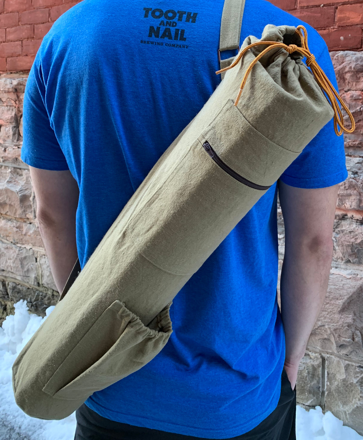 DIY Hemp Yoga Bag Tutorial - Day 1 - Getting Started!