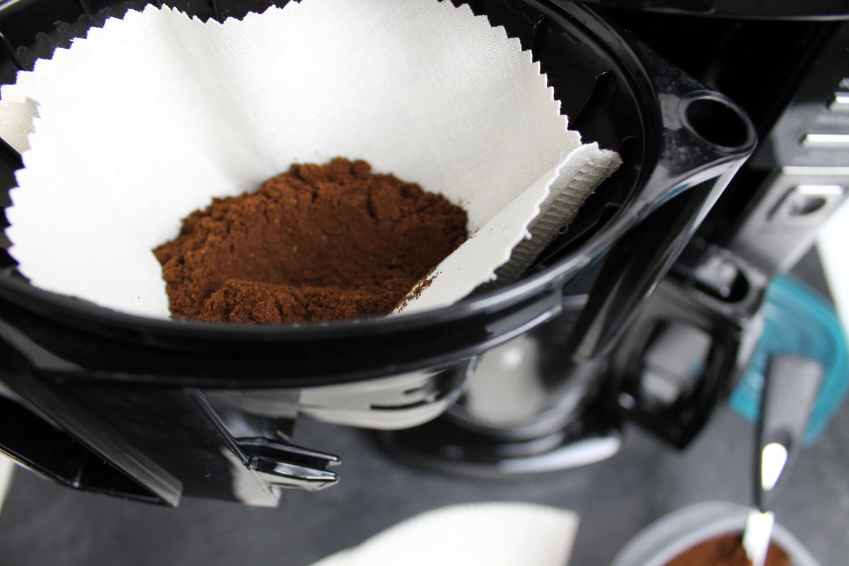 Reusable Coffee Filter How-To with FREE pattern