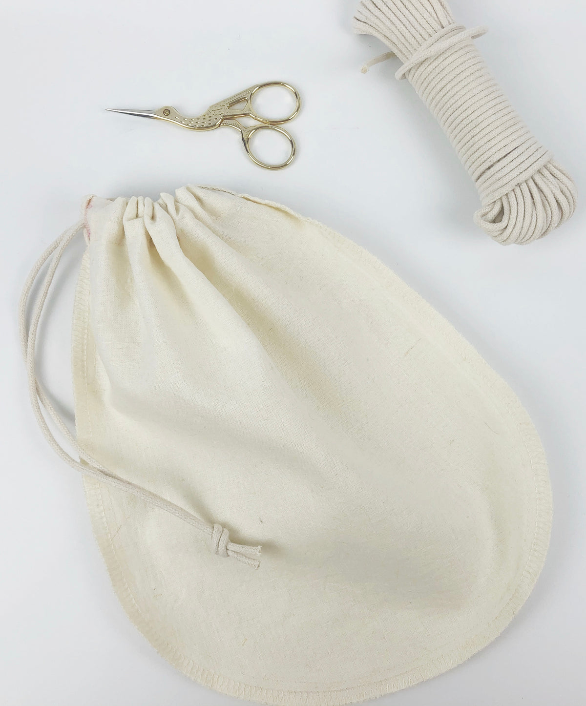 DIY Hemp Organic Cotton Nut Milking Bag