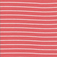 Stripes - Red/White - Cloud9 Knits - Jessica Jones - Cloud 9 Fabrics - Interlock Knit