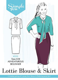 The Lottie Blouse + Skirt Combo - Simple Sew - Sewing Pattern