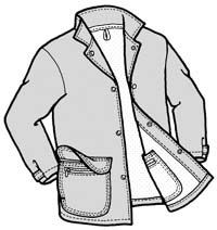 Adult's Frenchglen Barn Jacket Pattern - 537 - The Green Pepper Patterns