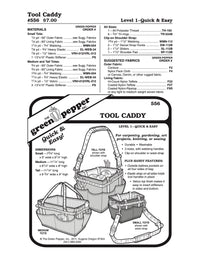 Tool Caddy Pattern - 556 - The Green Pepper Patterns