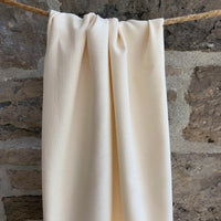 6.8oz Organic Cotton Light Weight Canvas - Grown & Made in USA - Natural
