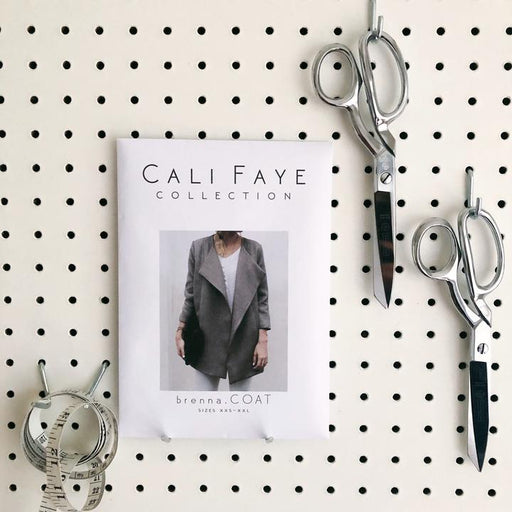 Brenna Coat Sewing Pattern - Cali Faye Collection