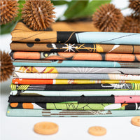 Basket Racks - Cats and Raccs - Charley Harper - Birch Fabrics - Poplin