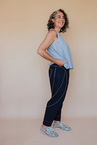 Darlow Pants Pattern - In The Folds