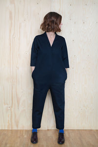 V-Neck Jumpsuit Pattern - The Assembly Line