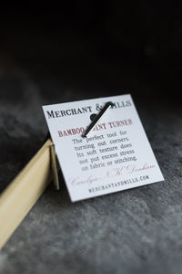 Bamboo Point Turner - Merchant & Mills