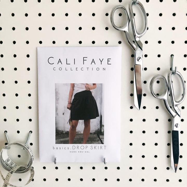 Basics Drop Skirt Sewing Pattern - Cali Faye Collection