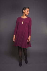 Ebony T-Shirt and Knit Dress Pattern - Closet Core Patterns