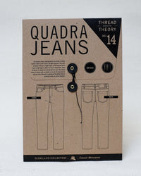 Quadra Jeans Pattern - Thread Theory