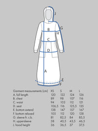 Hoodie Dress Pattern - The Assembly Line