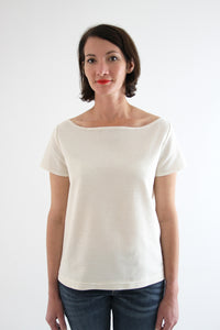 I am MILOR (Ladies) - Classic Boatneck Tshirt Pattern -  I AM PATTERNS