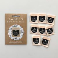 """IT HAS POCKETS"" Woven Label Pack - Kylie And The Machine"