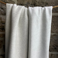 Bamboo Organic Cotton Fleece 340gsm -  Light Heather Grey