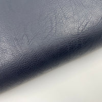 Vegan Leather - Vintage - Navy